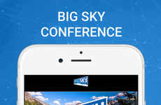 Collegiate Sports Streaming Apps - The Big Sky Conference App Lets You Stream Sporting Events