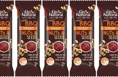 BBQ-Flavored Snack Bars - Go Natural is Now Offering a Range of Savory Nut Bars