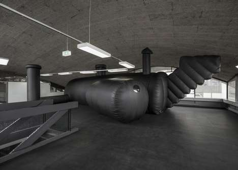 Inflatable Nightclubs - This Blow-Up Building Was Made for the Federation of Swiss Architects' Party