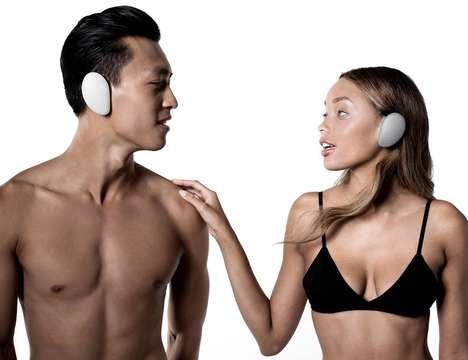 Ergonomic Ear-Shaped Headphones