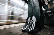 Skeletal Football Cleats - These adidas Football Cleats Sport a Design That's Ready for Halloween