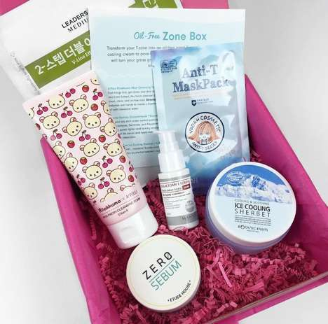 Korean Beauty Subscriptions - Memebox Offers Niche Cosmetic Kits for Varying Skin Concerns