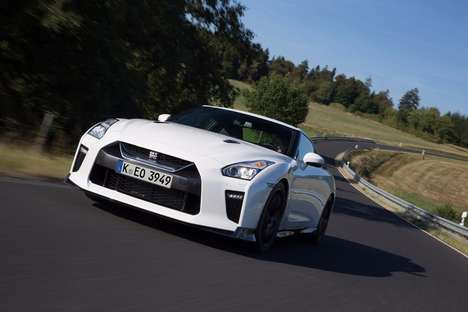 Turbocharged Track Cars - The Nissan GT-R Track Edition Offers Increased Stability and Power