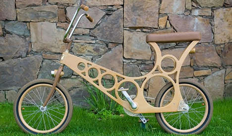 Woodenwidget Offers a Wood Bicycle and Many Boats That Are All Portable