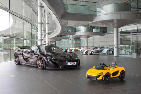 Child-Sized Supercars - The 'Ride On Electric' McLaren P1 is for Kids Three to Six