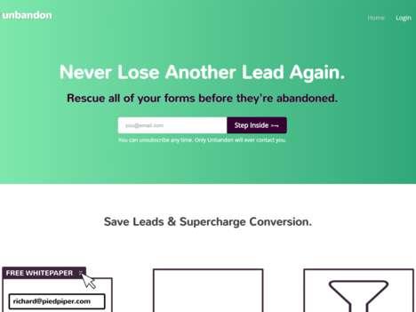 Sales Lead-Saving Services