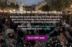 Technological Democratic Platforms - The D-CENT Platform for Democracy Engages European Citizens