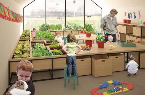 Nursery School Farms - This Nursery School Concept Could Provide Essential Skills to Children