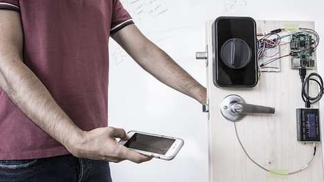 Wireless Fingerprint Systems - This Fingerprint System Conveys You Information From Phone to Device