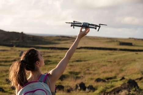 Folding 4K Drones