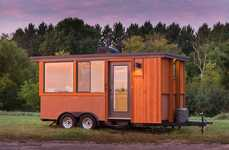 Glazed Tiny Homes - The Vista Go Towable Home Offers Compactness and Affordability