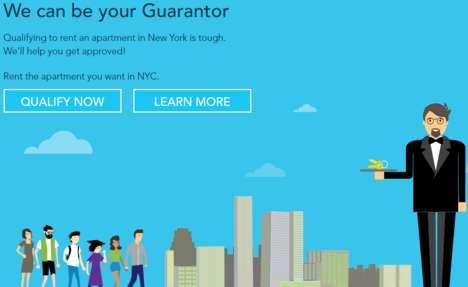 Guarantor Service Startups