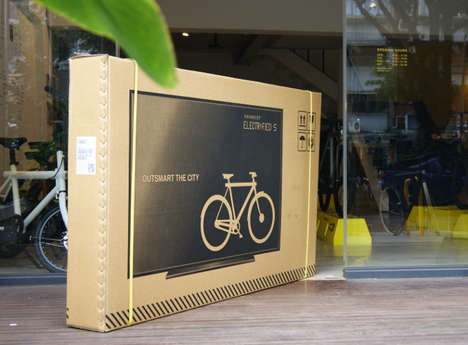 Deceptive Bike Shipping Boxes - VanMoof is Shipping Out Bikes in Flat Screen TV Boxes to Stop Damage