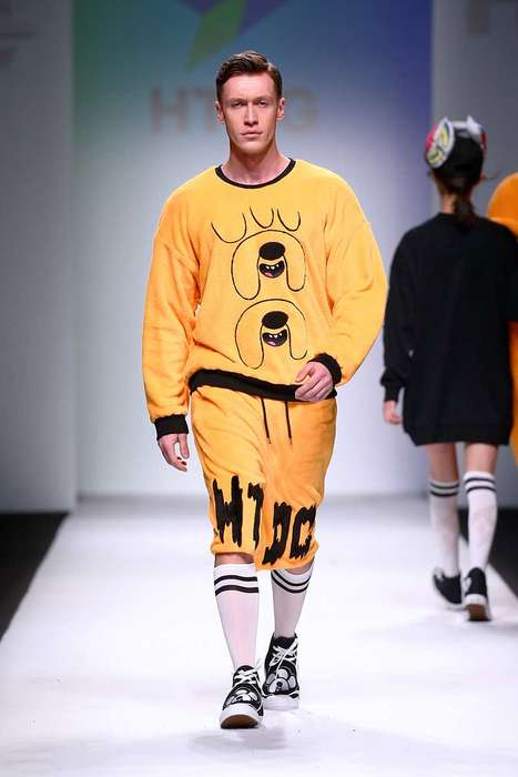 Cartoon-Themed High Fashion - HTDG And Leo Ku Joined to Create a Line of Adventure Time Clothing