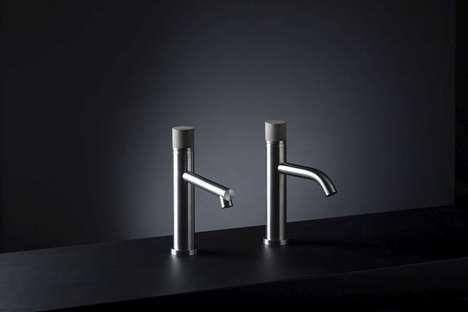 Concrete Industrial Faucets