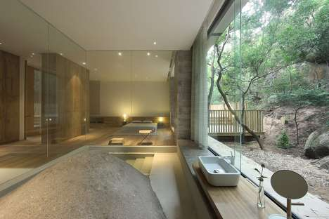 Mountainous Living Spaces - Xu Fu-Min's Home Design in Rural China is Permeated by Mountains