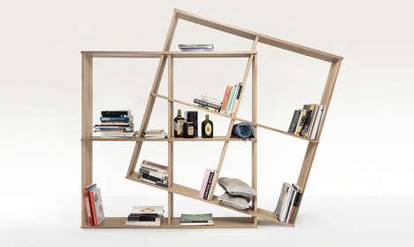 Modular Transforming Bookshelves