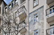 Encased Apartment Facades - atelier7architektura's Revitalized Building in Warsaw is Glass-Covered