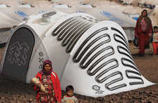 Energy-Generating Tents