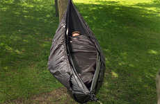 Suspended Cocoon Tents - The Snugpack Hammock Cocoon is a Versatile Outdoor Sleeping Bag