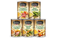 Heritage-Inspired Canned Soups - The Crosse & Blackwell 'Best of British' Lineup is Traditional