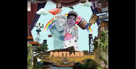 Wacky Tourism Ads - 'Odnarotoop' Advertises Portland for Japanese Tourists