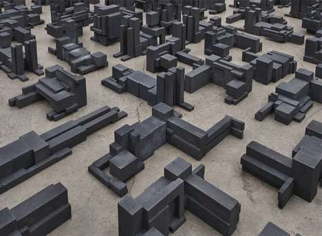 Urban Anatomy Landscapes - These Antony Gormley Sculptures Connect Geography with the Human Form