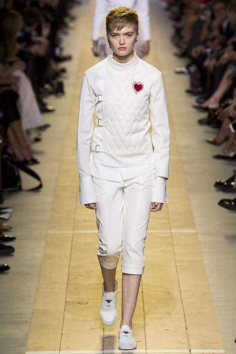 Fencing-Inspired Fashion - Dior Took Cues from Sports for a High-Fashion Spring Collection
