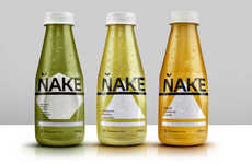 Pure Cold-Pressed Juices - This Juice Brand Offers a Pure Juices with Dynamic Ingredients