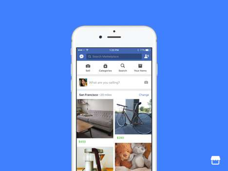 Social Media Marketplaces - 'Facebook Marketplace' is the Social Media Giant's Version of Craigslist