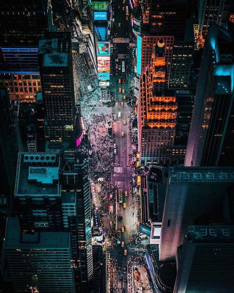 Dazzling City Photography - Dylan Schwartz Skillfully Takes Aerial Shots of LA, New York and More