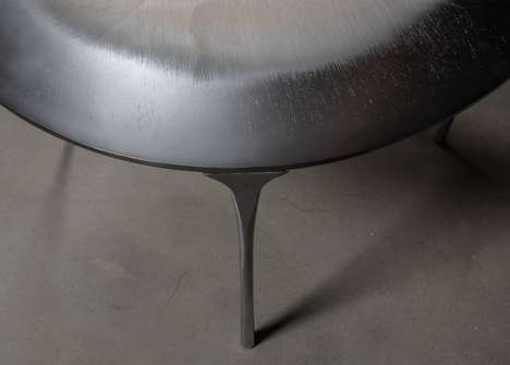 Metal-Infused Wood Tables