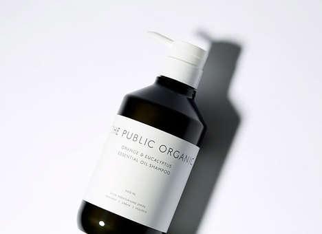 Monochromatic Shampoo Branding
