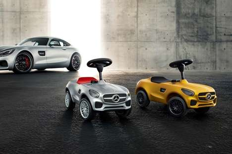 Child-Sized Supercars - The Mercedes-AMG GT Bobby Car is Designed for Toddler Test Drivers