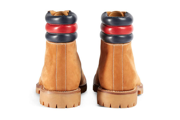 Luxuriously Branded Boots : Gucci