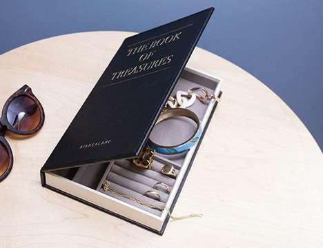 Book-Shaped Jewelry Boxes