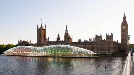 Bubbly Parliament Buildings