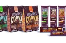 Multilayered Candy Bars - Hershey's New Cookie Layer Crunch Bars Boast a Surprising Texture