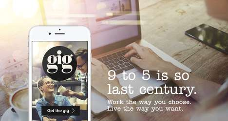 Shift Work Apps - The Gig App Helps Millennials Secure Part-Time Shift Work Easily