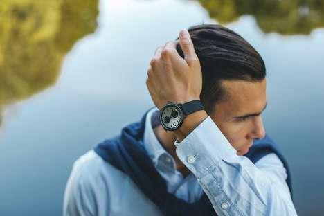 Precision Steel Timepieces