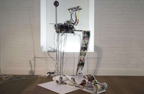 Expressionist Painting Robots - The Electropollock Pays Homage to Jackson Pollock