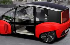 Autonomous Concept Cars - The Rinspeed Oasis Reinterprets Vehicular Interiors As Lounges