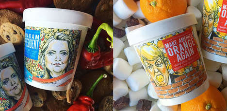 Election Candidate Desserts - These Ample Hills Flavored Ice Creams are Presidentially Delicious