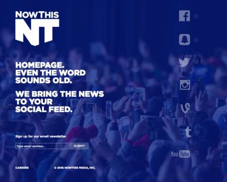 Social News Platforms - 'Now This' News is Delivered to Millennials Via Social Networks