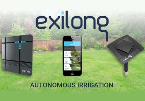 Water-Restricting Irrigation Systems - 'Exilong' Watering Systems Can Reduce Water Use by 75%