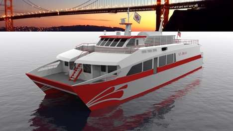Hydrogen-Powered Concept Ferries - This Ferry Would Make Water Travel More Energy-Efficient