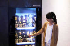 Smart Wine Cellars - Panasonic's Sake and Wine Storage Cellar Suggests Recipes and Pairings