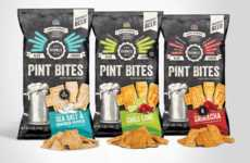 Beer Pairing Snacks - Pairwell's 'Pint Bites' are Beer Snacks That Complement a Brew