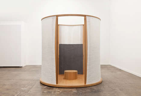 Freestanding Tea Houses - Mimi Jung's Private Parlor Is a Space for Comfort and Contemplation
