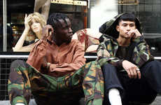 Revitalized Military-Inspired Menswear - Rabbithole London Added a New Series to Its Seasonal Range